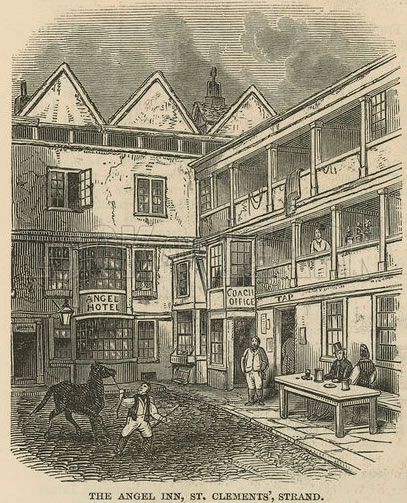 Angel Inn, the Strand