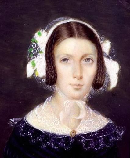 Fanny Brawne, c.1833 (with permission of R. Goodsell, courtesy of Keats House,         City of London)