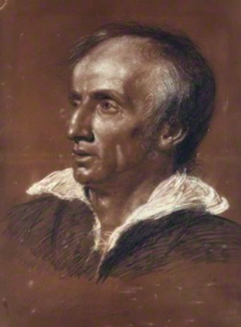 Haydon's 1818 Chalk Drawing of Wordsworth (National Portrait Gallery, NPG         3687)