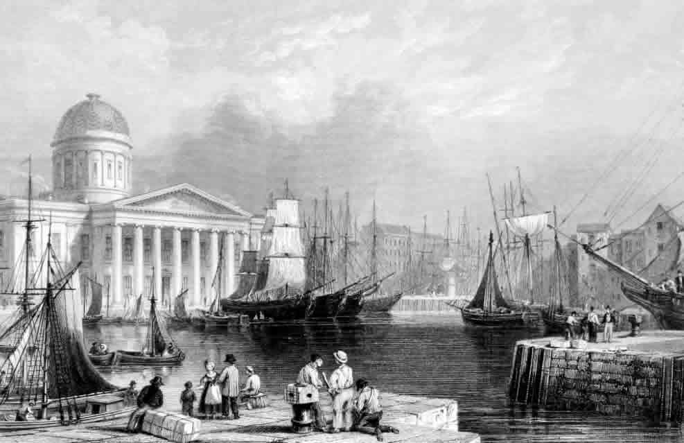 The Liverpool Docks