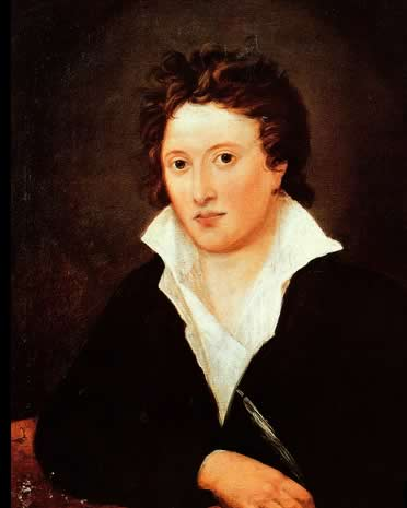 Percy Bysshe Shelley, 1819, by Amelia Curran, National Portrait Gallery (NPG         1234)