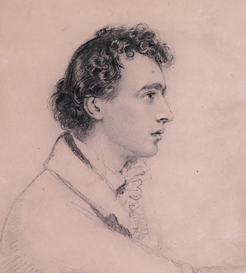 Joseph Severn, self-portrait, c.1820 (National Portrait Gallery, NPG         3091)