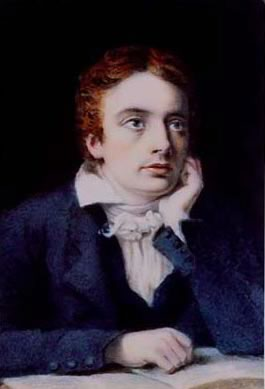 Joseph Severn's miniature of Keats, late 1818, National Portrait Gallery, NPG         1605