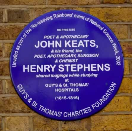 St. Thomas' Street Plaque