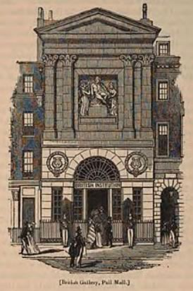 British Gallery, No. 52 Pall Mall, London