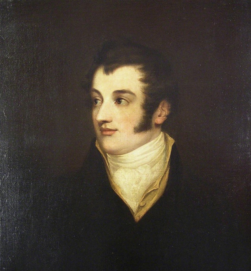 Charles Wentworth Dilke, c.1820 (artist unknown; Guildhall Art Gallery KH0129).         Click to enlarge.