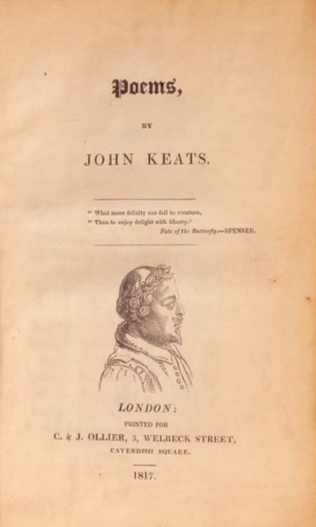 The title page of Poems