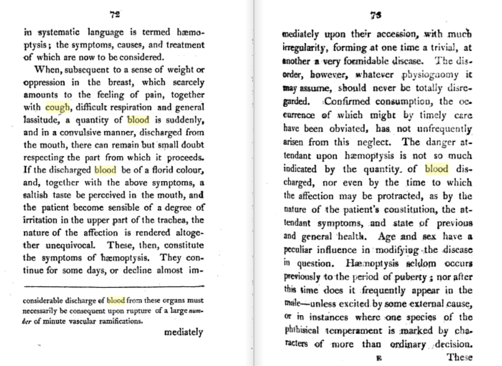From John Reid's 1806 A Treatise on the Origin, Progress, Prevention, and           Treatment, of Consumption. Click to enlarge.