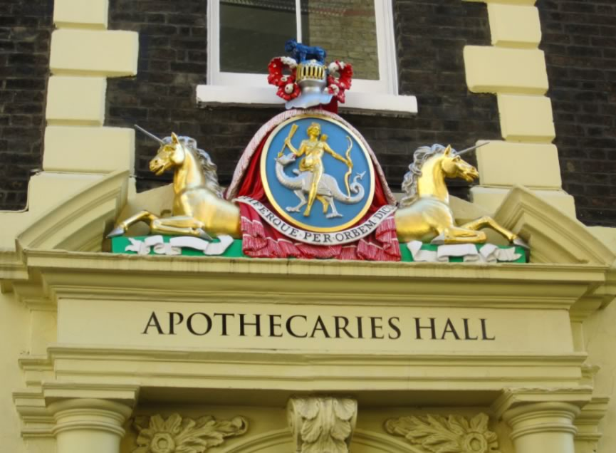 Apothecaries Hall, London