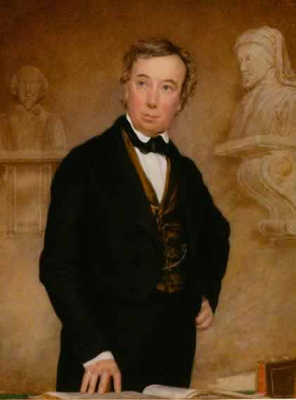 Charles Cowden Clarke, c.1850, National Portrait Gallery (NPG 4506)