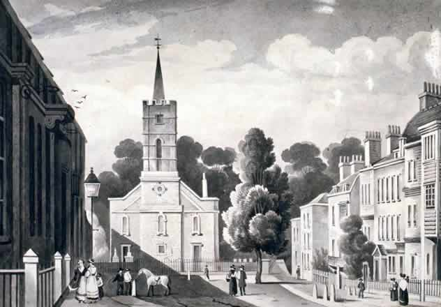 Church Row, Hampstead, c.1830