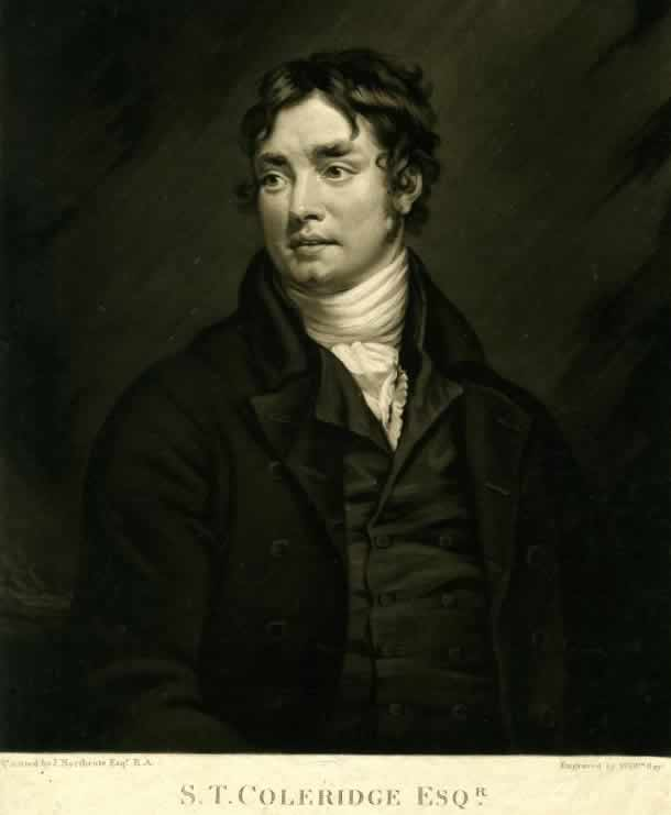 Coleridge, by William Say, after James Northcote (National Portrait Gallery, NPG         32122)