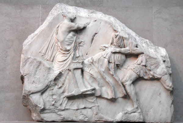 Fragment Piece of the Elgin Marbles