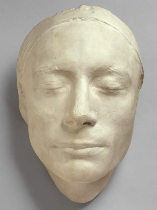 *Haydon's Life Mask of Keats, 1816 (National Portrait Gallery, NPG         686)