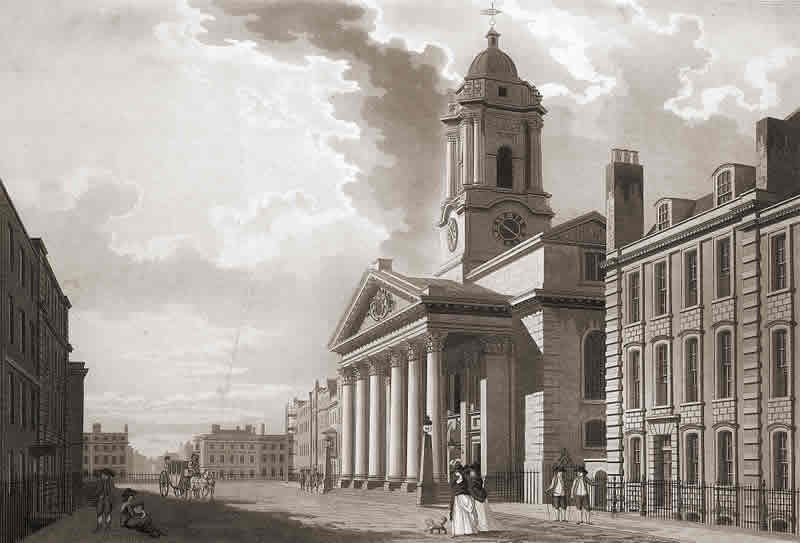 St. George's Church, Hanover Square (1797)