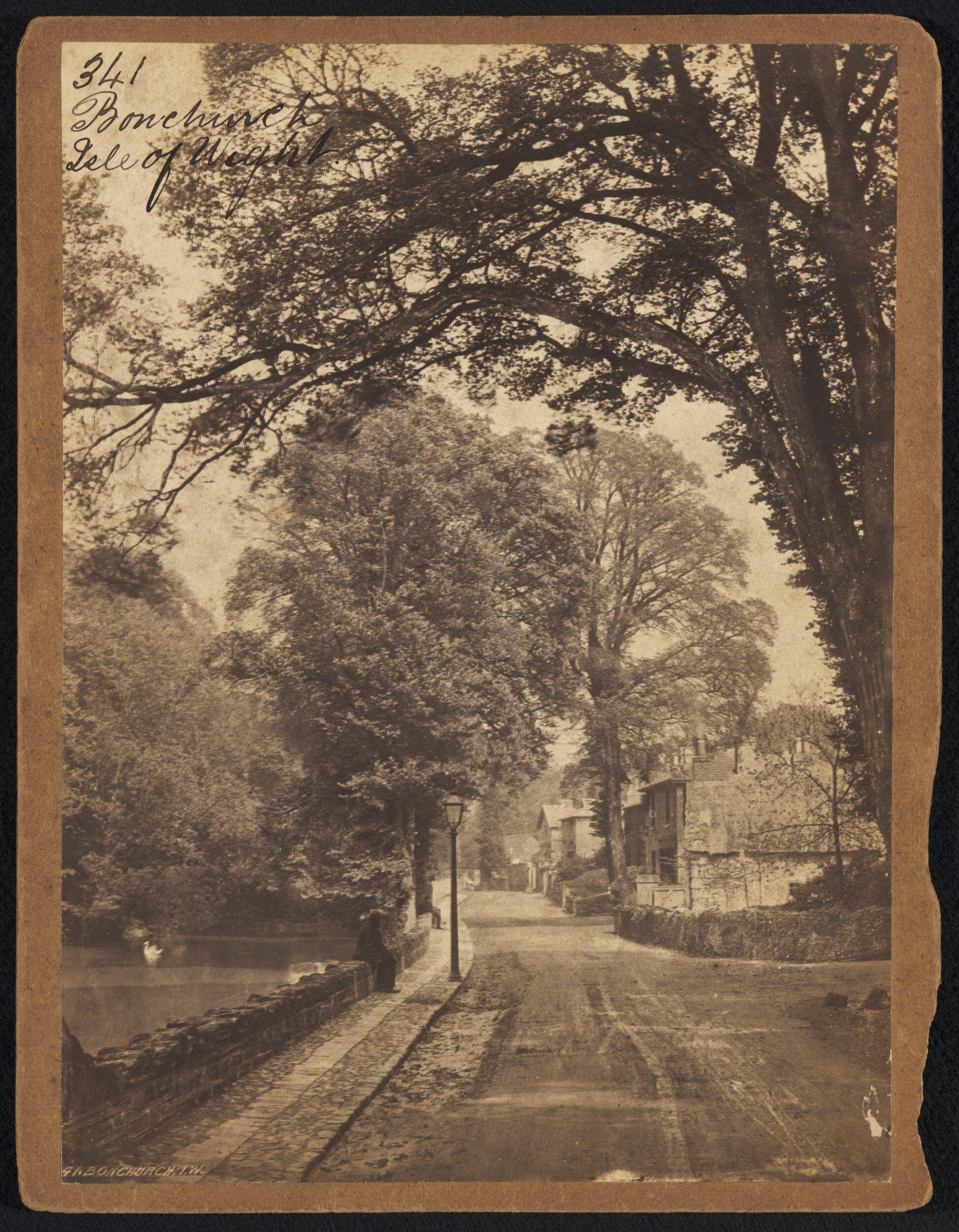 **Photograph by Francis Frith; Bonchurch, c.1860 (Victoria and Albert Museum         E.208:456-1994). Click to enlarge.