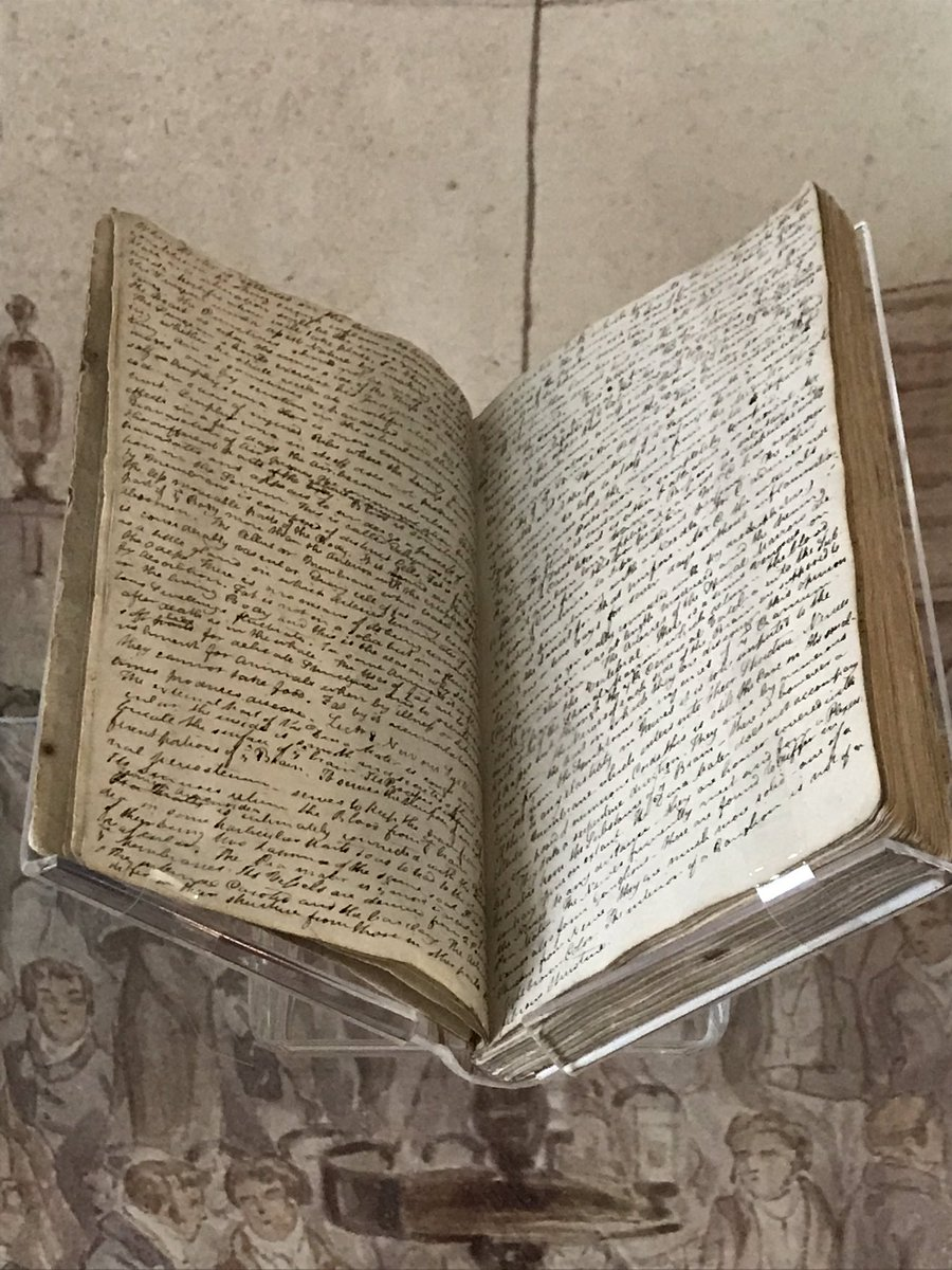 Keats's medical notebook (Keats House, City of London). Click to         enlarge.
