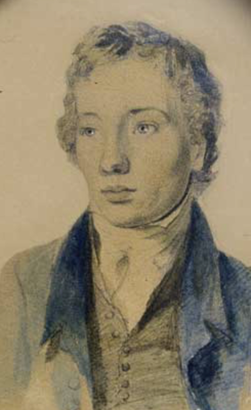 Keats's younger brother Tom, c.1820; Keats-Shelley House, Rome