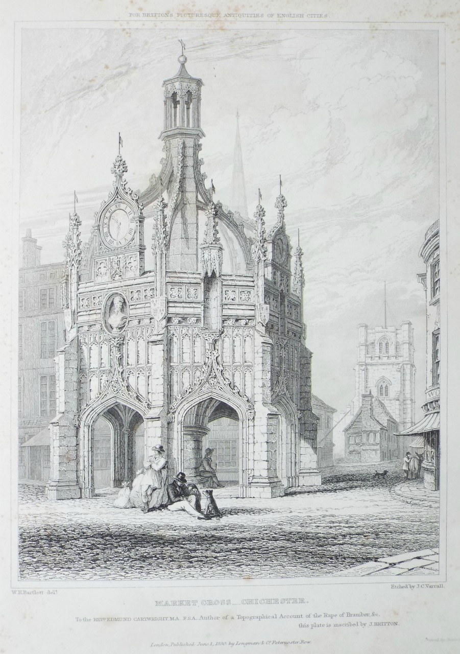 Market Cross, Chichester c.1830 (click to enlarge)