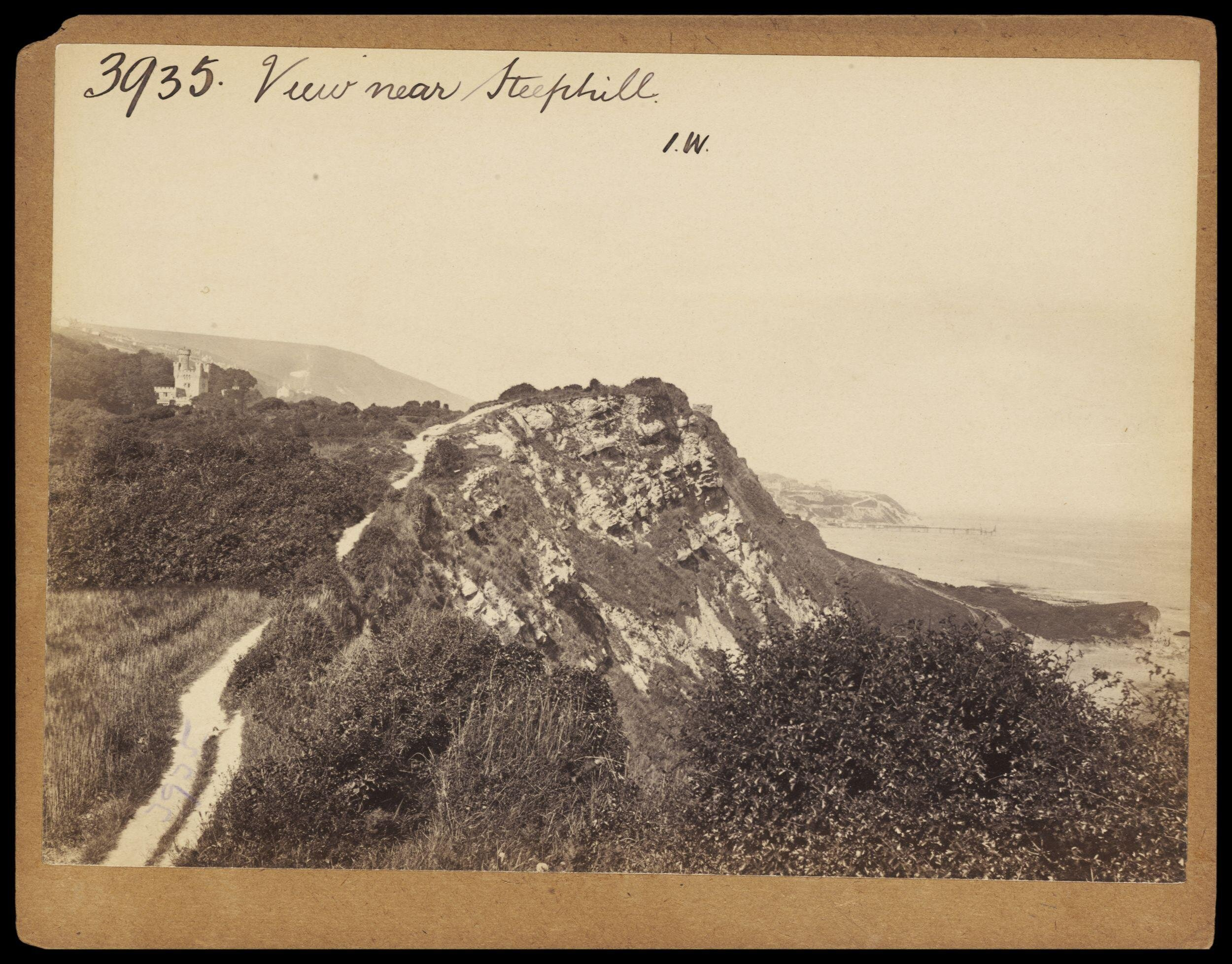 *Photograph by Francis Frith; View near Steephill, c.1860 (Victoria and Albert         Museum E.208:3370-1994). Click to enlarge.